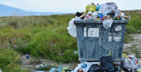 Müll verschmutzt die Umwelt