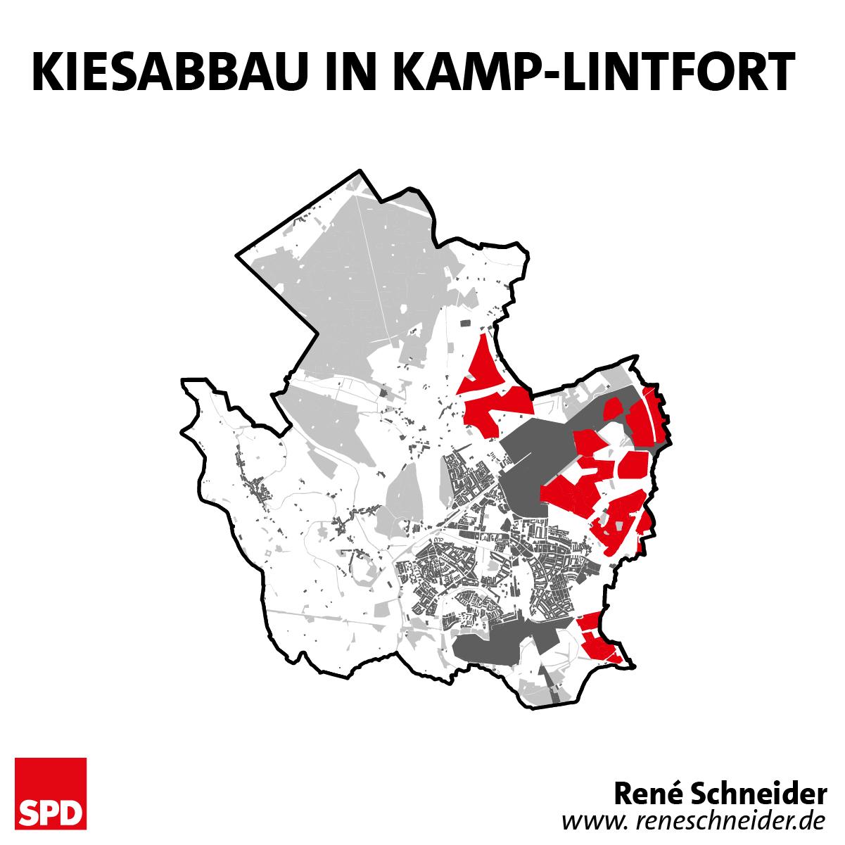Kiesabbau in Kamp-Lintfort