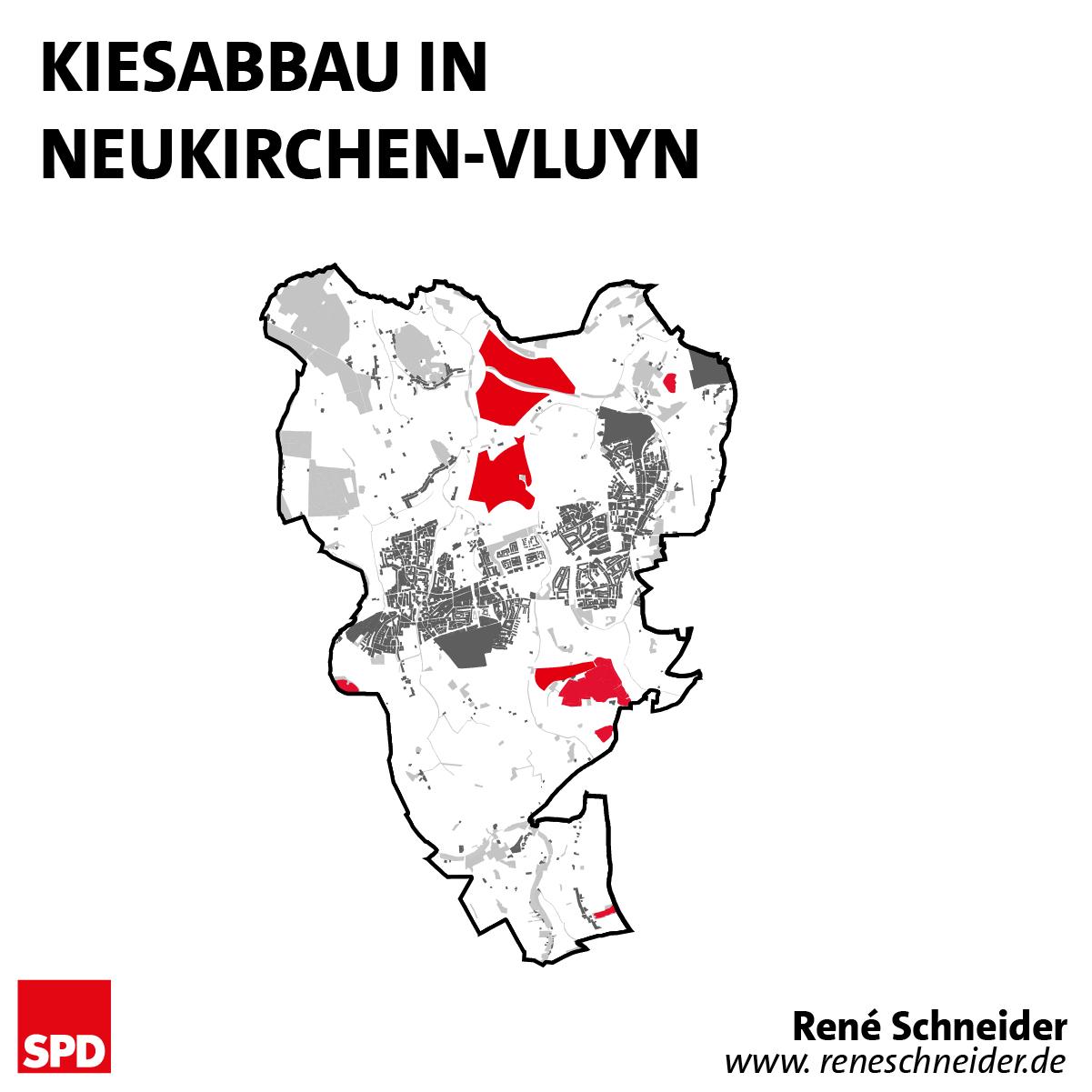 Kiesabbau in Neukirchen-Vluyn
