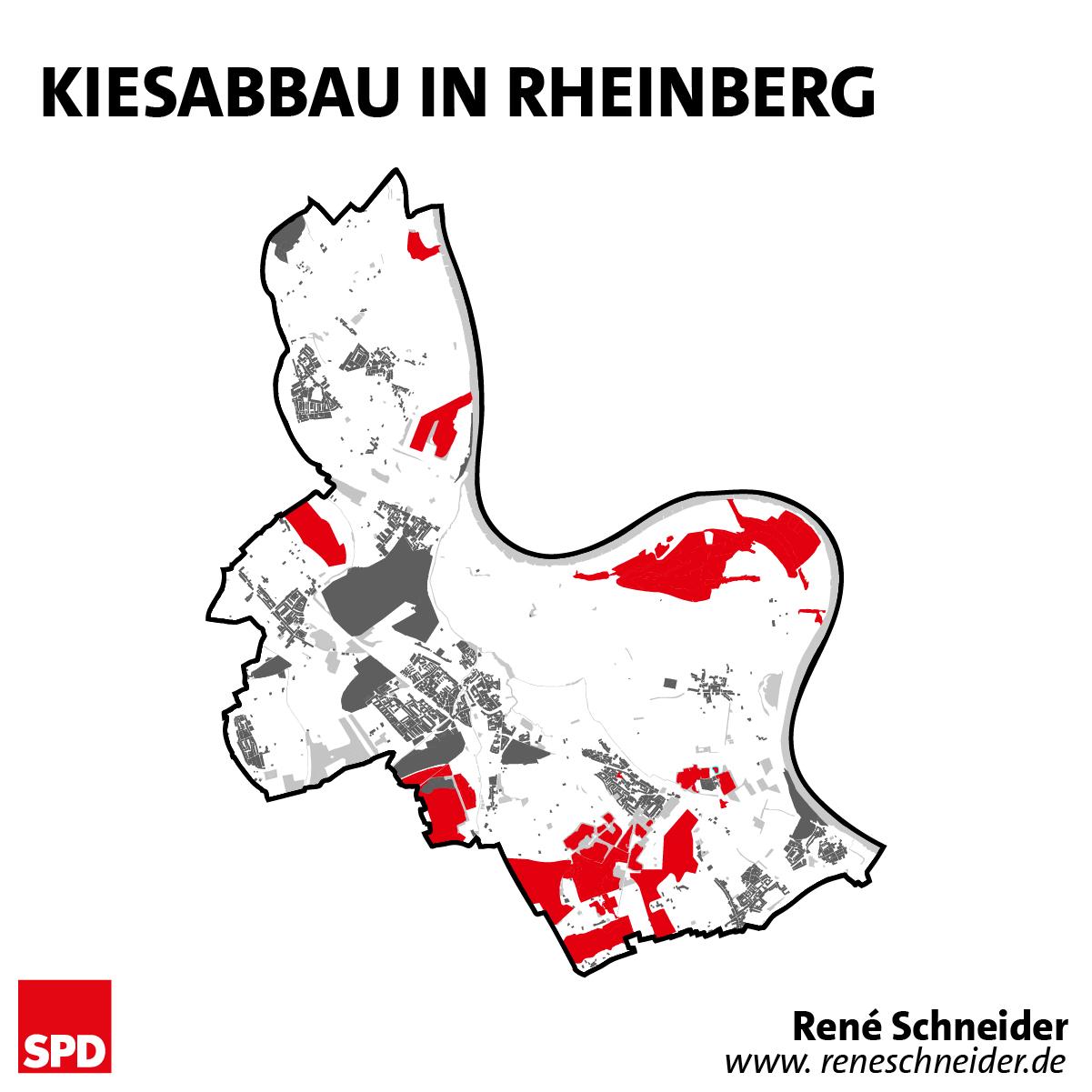 Kiesabbau in Rheinberg