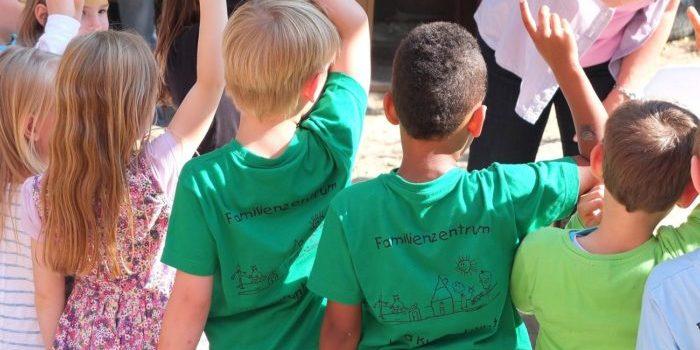 Werte lernen die Kinder bereits mit Besuch des Kindergartens.