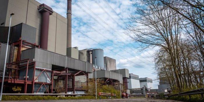 Stillgelegtes Kraftwerk in Voerde
